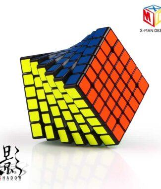 奇藝魔方格 影六階 魔術方塊 新品 影 高級 磁力 速解 魔方 防錯層 65mm 小尺寸