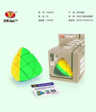 FO 永駿 粽子 雕刻版 三階 異形魔術方塊 3階概念方塊  速解品牌 雕刻 造型 3階