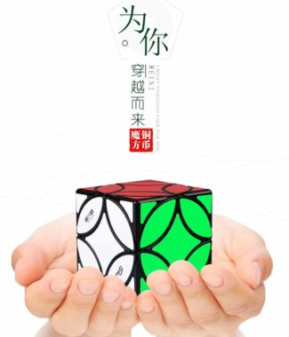 FO 藝魔方格 銅幣魔方 異形 魔術方塊 速解 魔方 彈頭包裝 銅幣