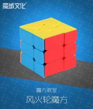 FO 魔方教室 風火輪 彩色 異形 魔術方塊 三階概念 3階 魔域文化 魔方 六色 6色 MF 魔域
