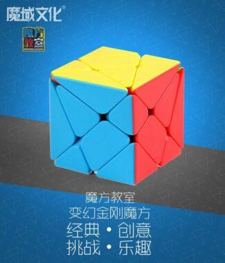 FO 魔方教室 變幻金剛 彩色 異形 魔術方塊 三階概念 3階 魔域文化 魔方 六色 6色 MF 魔域
