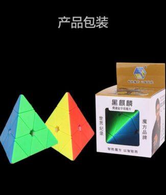 FO 裕鑫 黑麒麟 金字塔 超便宜 彩色 異形 三階 pyraminx 速解 無貼紙 智勝 3階 益智玩具