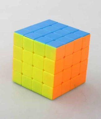 永駿 睿速 四階 彩色 魔術方塊 速解 魔方 彈簧可調整 入門 4階