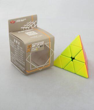 永駿 睿龍金字塔 彩色 魔術方塊 pyraminx 速解魔方 異形 三階金字塔 益智玩具 3階