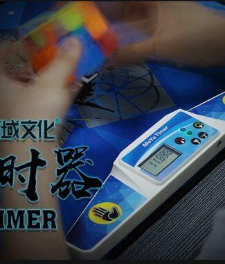 FO 魔域計時器 魔術方塊 速解比賽 WCA 疊杯 手指 魔域 計時器 附原廠電池 附卡扣