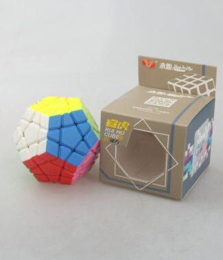 永駿 睿虎 五魔方 彩色 異形 魔術方塊 速解 5魔方 mega 益智玩具 附解法書