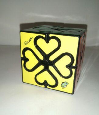藍藍齒輪心魔 異形 魔術方塊 二階齒輪 2階 愛心 心形 魔方 益智玩具 lanlan 黑色