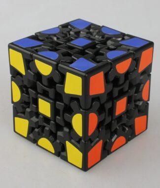 x-cube 齒輪一代 二代 黑色 黑底 3D 製作 x cube 魔術方塊 異形魔方