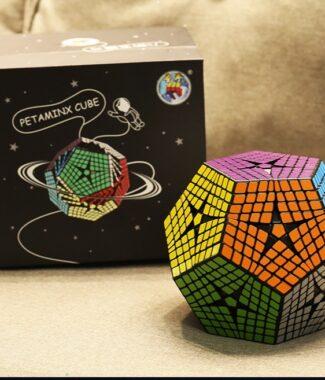 聖手八階五魔方黑 高級包裝 魔術方塊 異形 8階 5魔方 mega 益智玩具 megaminx 高階