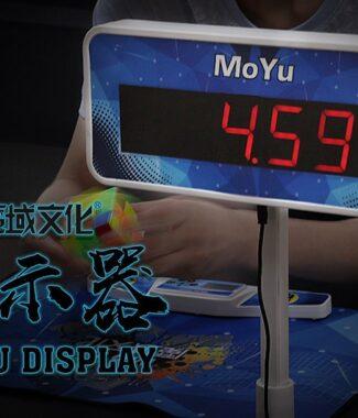 FO 魔域 顯示器 大顯 魔術方塊 魔方 速解 比賽 連接計時器 3位數 USB 電池