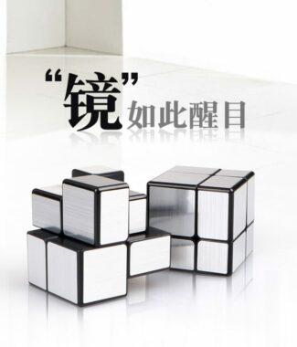 FO 奇藝 二階鏡面 可8顆拼裝 異形 魔術方塊  益智玩具 2階 魔方 速解 魔方格 彈簧