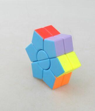 優品 二階 魔標 異形 魔術方塊 彩色 益智玩具 puzzle 2階 魔方