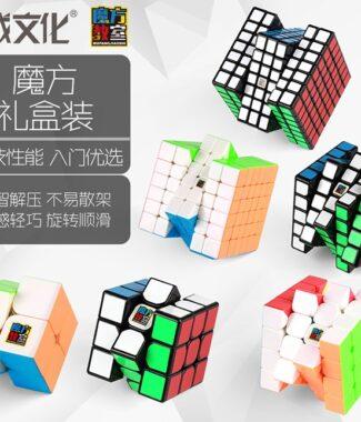 FO 魔方教室 234567禮盒 含完整解法書 魔術方塊 禮盒 魔域工廠 二三四五六七 6合1 魔方組合裝