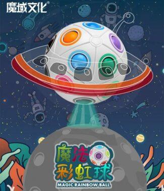 FO 魔域 魔法球 魔力球 彩虹球 8孔 12孔 20孔 按壓 紓壓 磨砂 益智玩具 兒童