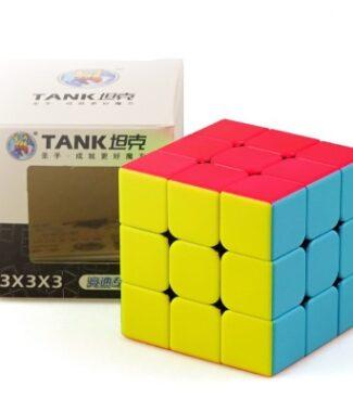 FO 聖手 坦克 三階 速解 魔術方塊 3階 彩色 磨砂 3×3 55mm