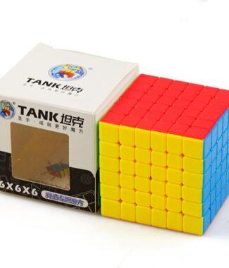 FO 聖手 坦克 六階 速解 魔術方塊 6階 彩色 磨砂 6×6