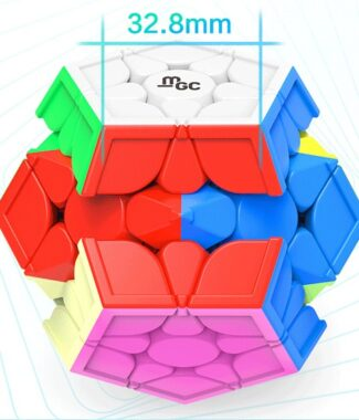 FO永駿文化 MGC 五魔方 磁力 速解 三階 Mega 魔術方塊 附磁鐵 備用螺絲 魔方 益智玩具 彩色