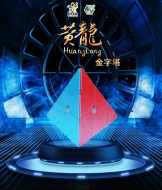 FO 裕鑫 黃龍 金字塔 磁力 磁鐵定位 速解 魔術方塊 異形 智勝 三階金字塔 96mm