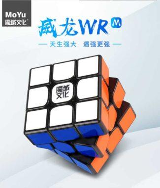FO 威龍WRM 魔域 磁力 三階 威龍 WR M 速解 魔術方塊 3.47 世界紀錄 杜宇生 3階 雙調系統