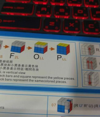FO gan 解法書 初學到速解 LBL CFOP 主流解法教學 教程 119種公式 彩色印刷