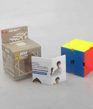 永駿 睿龍斜轉 彩色 魔術方塊 skewb 速解魔方 異形 三階斜轉 益智玩具 3階