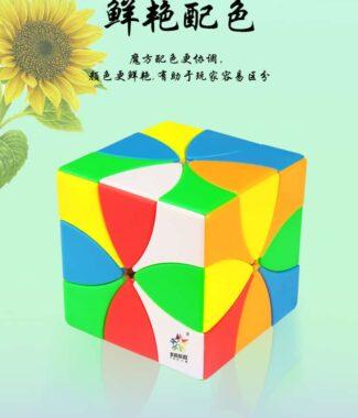 FO 裕鑫 八葉花 異形 磁力 八軸 魔術方塊 速解 魔方 磁鐵 原色內核 造型魔方 益智玩具