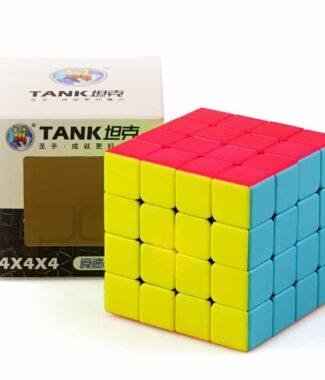 FO 聖手 坦克 四階 速解 魔術方塊 4階 彩色 磨砂 4×4 62mm