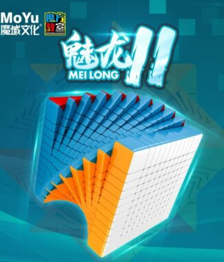 FO 魔方教室 魅龍 11階 速解 魔術方塊 十一階 魔方 彈簧可調 90mm 高階 彩色 魔域文化