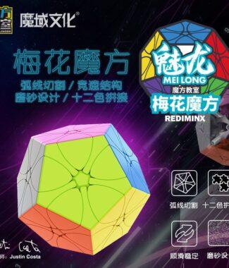 FO 魅龍梅花魔方 魔方教室 十二面體 異形 速解品牌 魔域文化 磨砂 12 魅龍 魔術方塊 益智玩具