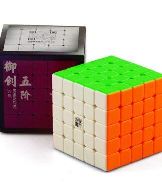 FO 永駿 御創2M 磁力 五階 魔術方塊 速解 魔方 御創 2代 M 益智玩具 彩色 艷麗六色