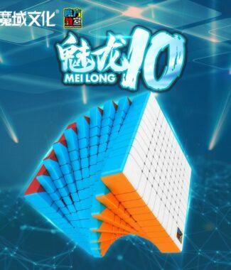 FO 魅龍 10階 魔方教室 速解 魔術方塊 十階 魔方 彈簧可調 84mm 高階 彩色 魔域文化