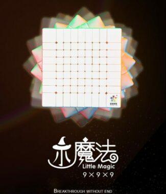 FO 裕鑫 小魔法 九階 速解品牌 魔術方塊 90mm 彩色 魔方 9階 螺絲可調整 智勝 益智玩具