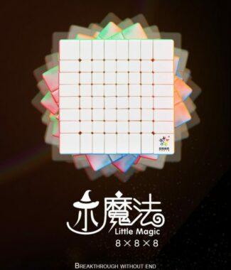 FO 裕鑫 小魔法 八階 速解品牌 魔術方塊 87mm 彩色 魔方 8階 螺絲可調整 智勝 益智玩具
