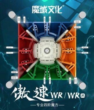 FO 魔域 傲速WRM 磁力 四階 4階 魔術方塊 速解魔方 傲速 WR M 益智玩具
