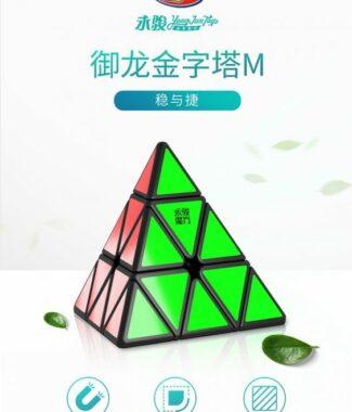 御龍金字塔M 永駿 御龍 金字塔 M 磁力 二代 異形 魔術方塊 速解 魔方 益智玩具 三角形 四面體
