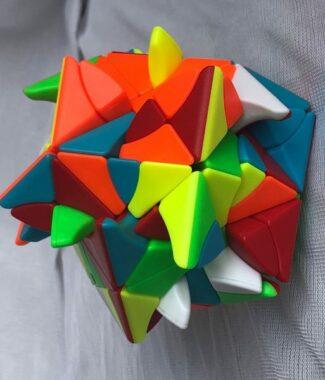 方是 極光閃蝶 異形 魔術方塊 彩色 魔方 益智玩具 puzzle