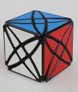 藍藍 八軸魔星 rex cube 黑色 異形 魔術方塊 黑色 魔方 益智玩具 lanlan