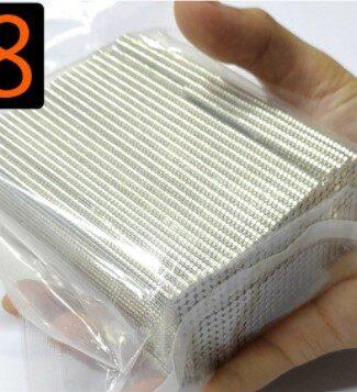 N38 強力磁鐵 銣鐵硼鎳 四元素 3*2 4*2 白銀色 圓形 魔術方塊 魔方 小磁鐵 強磁