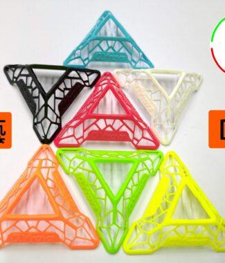 奇藝 DNA底座 鏤空 三腳架 乘載你的熱愛 7.5CM 魔方格 造型 三角架 DNA 底座