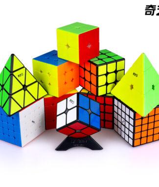 奇藝 MS 磁力 魔術方塊 速解 魔方 磁鐵 二階三階四階五階 2階 3階 4階 5階 魔方格 金字塔