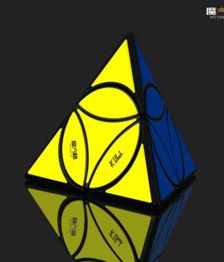 圓盤金字塔奇藝 異形 魔術方塊 四軸 二階金字塔 創新設計 適合新手 魔方 益智玩具 魔方小天地