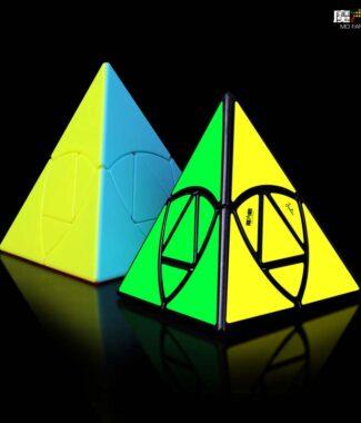 金粽 奇藝 附解法書 異形 魔術方塊 魔方 速解 魔方格 金字塔 益智玩具 變形 puzzles