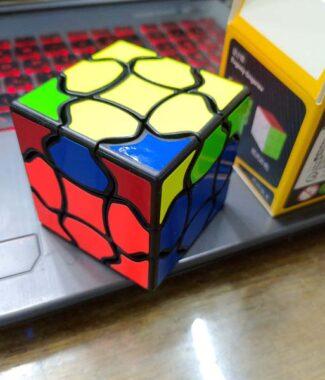 花瓣三階 奇藝 魔術方塊 3階 概念方塊 異形 魔方格 速解品牌 益智玩具 造型方塊 魔方小天地