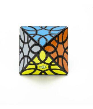 藍藍 三葉草八面體 Clover Octahedron Cube 異形 魔方 益智玩具 魔方小天地