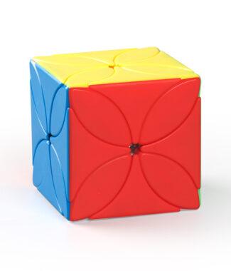 四葉草 魔域文化 異形 魔術方塊 三階概念方塊 魔方 3階 彩色無貼紙 磨砂 魔方小天地
