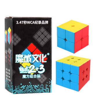 魅龍 23禮盒 魔方教室 23階禮盒 2階 3階 禮盒 魔域 二階 三階 魔術方塊 魔方 益智玩具 速解 MF