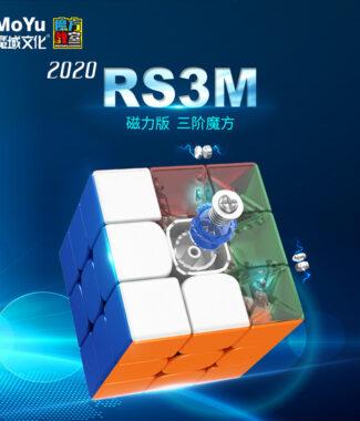 魔方教室 MF3RS3M 2020 磁力 魔術方塊 MF3RS3 三階 3階魔方速解 魔域 MF3 MF3RS M益智玩具