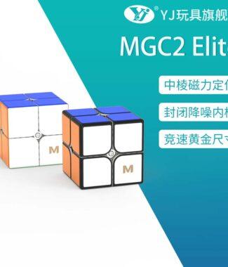 MGC2 Elite 永駿 魔術方塊 磁力 速解 MGC 2 二階 2階 魔方 艷麗六色 益智玩具