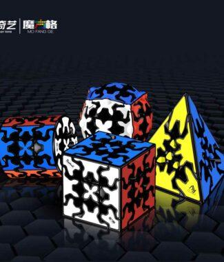 奇藝 齒輪 正版 專利 魔方格 魔術方塊 三階 金字塔 異形 益智玩具 奇藝魔方格 魔方 齒輪球 圓柱