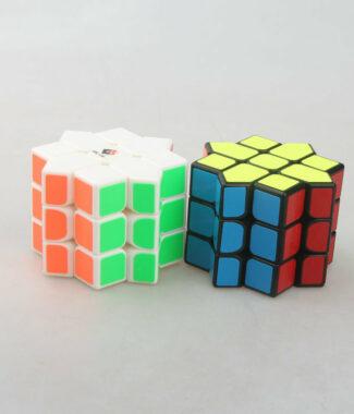 梯色 八角魔星 三階概念方塊 益智玩具 八角星 3階 異形 變形 魔術方塊 魔方 黑色 白色